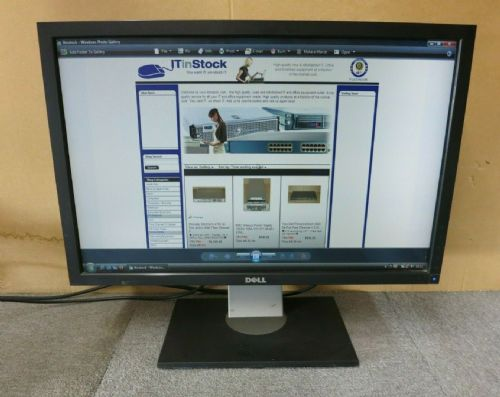 "Dell UltraSharp U2410F 24"" LCD TFT WideScreen Monitor DP HMDI DVI VGA USB"